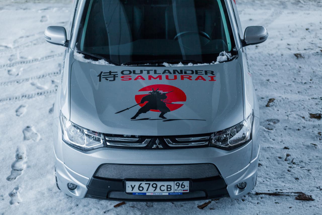 Быстротюнинг: смотрим в юбилейные глаза Mitsubishi Outlander Samurai