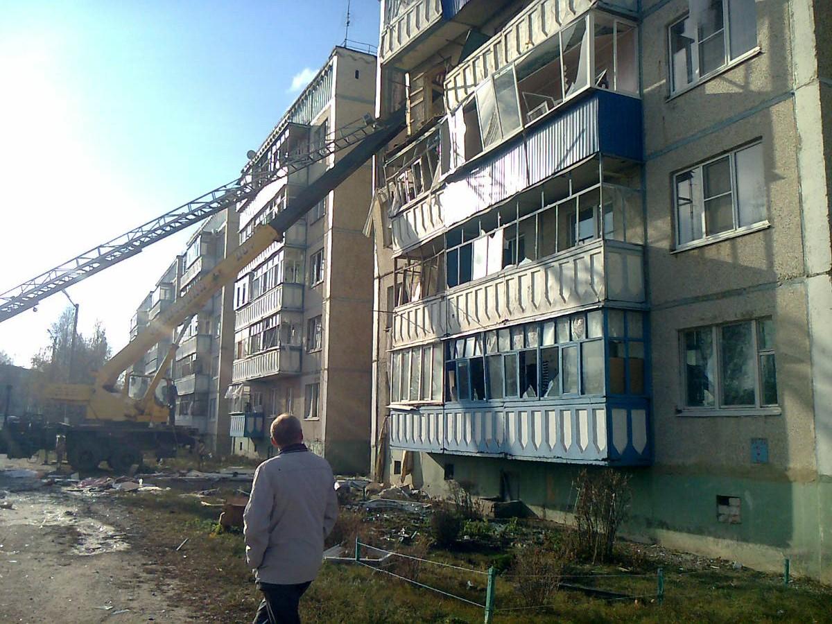 В Липецкой области из-за взрыва газа обрушилась пятиэтажка