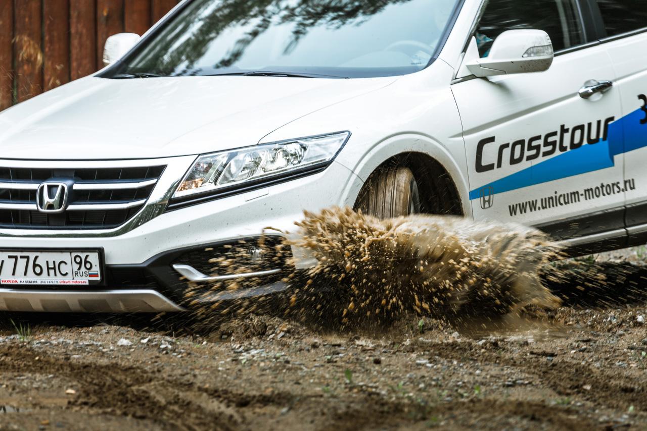 Эка невидаль: тестируем внедорожный «Аккорд» — Honda Crosstour