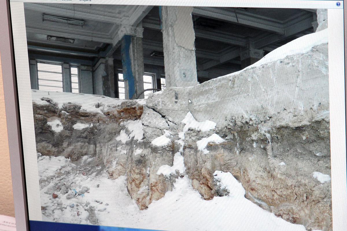 Документальное подтверждение: стены Центрального стадиона нельзя передвинуть