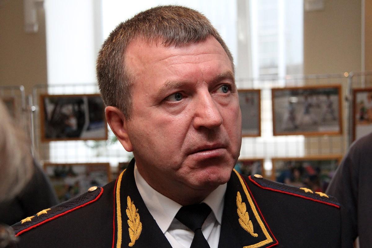 Бородин навестил свердловских полицейских, служащих в Дагестане