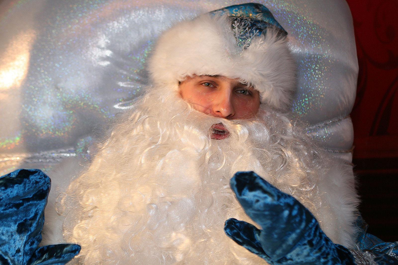 Обычный Дед Мороз: «Дети меня с Сантой не путают. Взрослые путают»