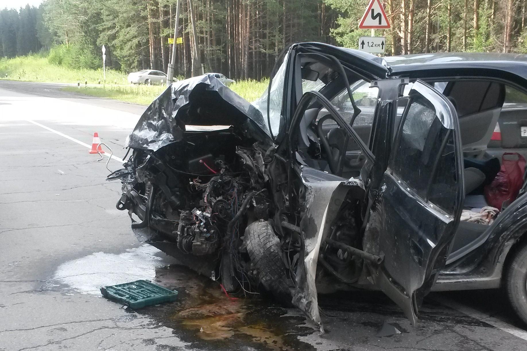 На дороге Первоуральск — Шаля страшное ДТП: погиб годовалый ребенок