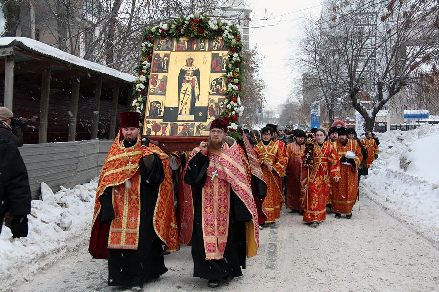Центральные улицы Екатеринбурга 4 ноября перекроют на время крестного хода
