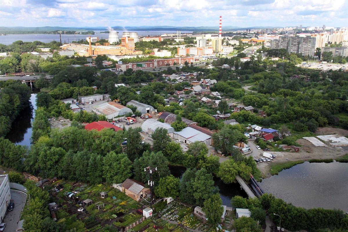 25 га частного сектора в микрорайоне Заречный застроят жилыми высотками