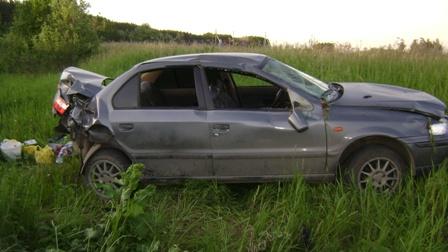 В аварии под Каменском-Уральским пострадали два ребенка
