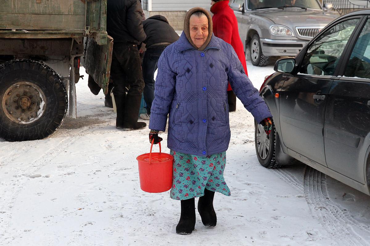 На ЖБИ 20 домов остались без воды из-за аварии на водопроводе
