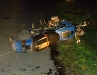 В Ирбитском районе разбился молодой мотоциклист