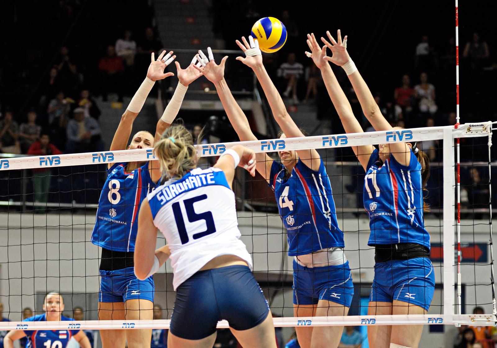 Российские волейболистки выиграли Кубок Ельцина