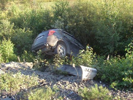 В лобовой аварии на Серовском тракте погиб мужчина