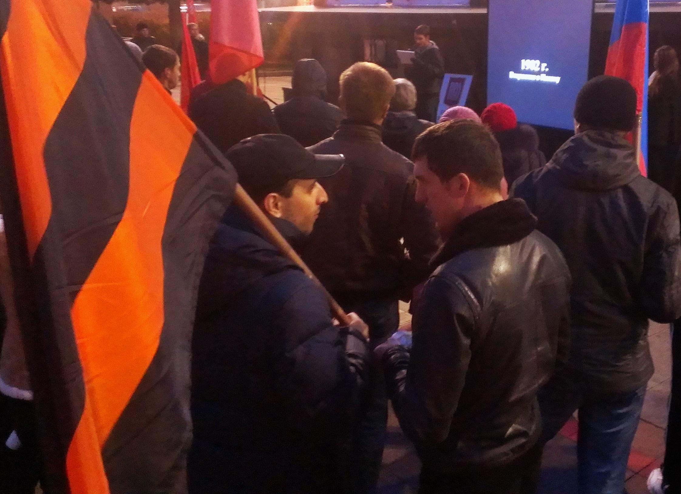 Националисты помянули Каддафи на митинге в Екатеринбурге