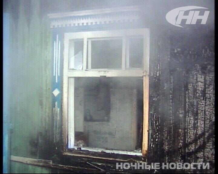 В Шабрах сгорел частный дом