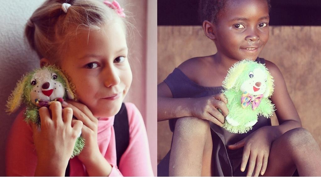 Фотограф из Екатеринбурга организовал международное детское «рукопожатие» игрушками