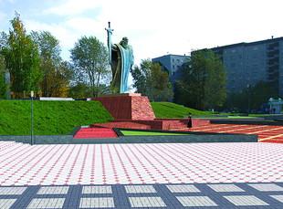 На площади Обороны установят мемориальные стелы