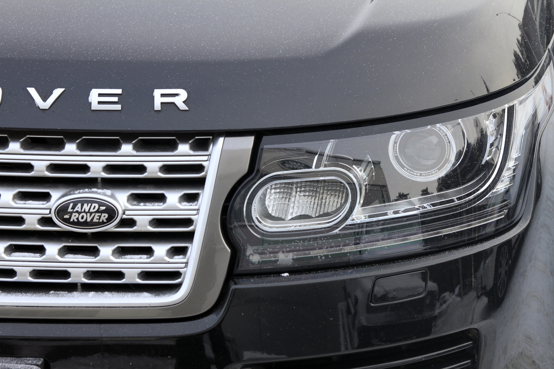 Столице Урала продолжают презентовать новый Range Rover