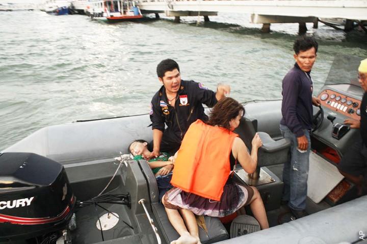 В Таиланде затонул паром. Среди погибших — трое туристов из России
