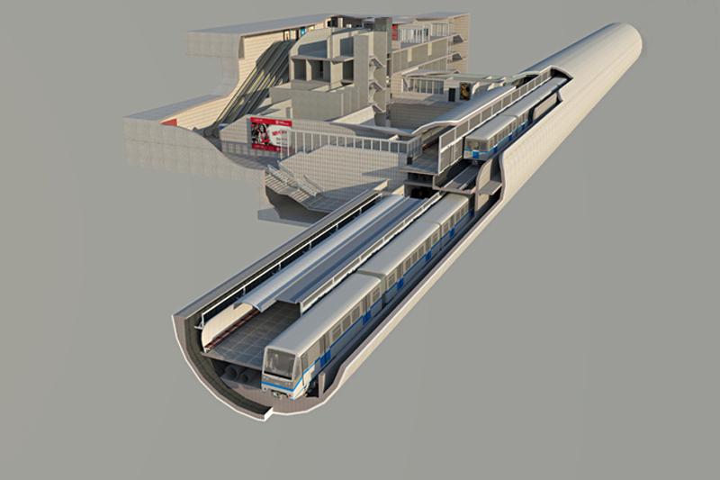 Строительство двухэтажного метро в Екатеринбурге обойдется в 70 миллиардов рублей
