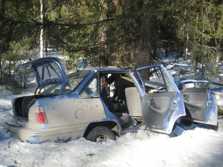 В ДТП на трассе Серов — Ивдель погибли двое