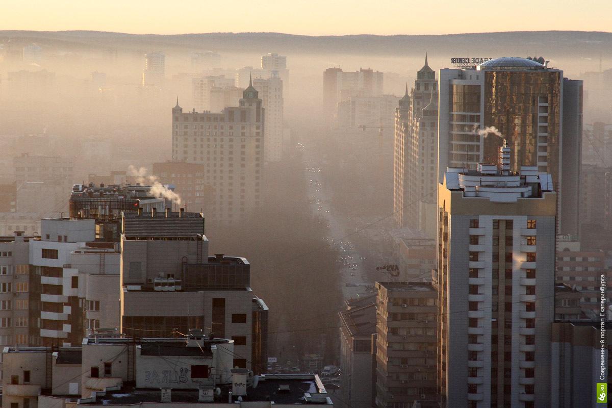 Глубокий вдох. Мы посчитали, сколько пыли глотает Екатеринбург