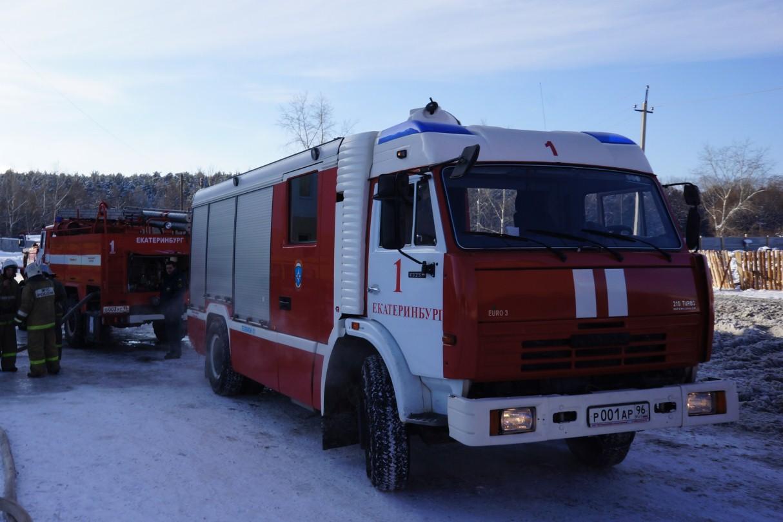 При пожаре в Сухом Логу погибли четверо детей