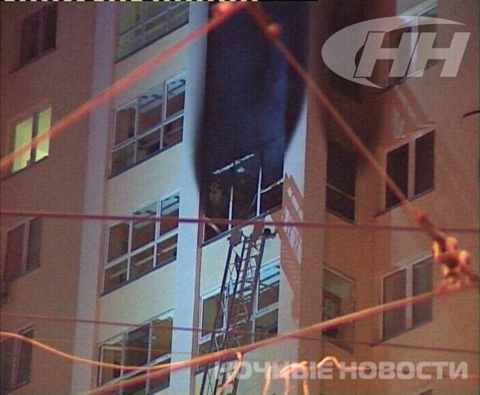 Короткое замыкание вызвало пожар в пустой квартире