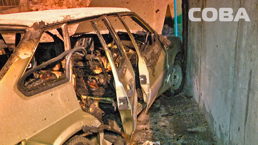 Мужчина, тело которого нашли в сгоревшем ВАЗе в Асбестовском переулке, был убит