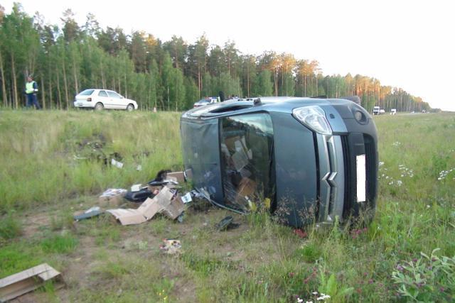 На трассе Екатеринбург — Тюмень в аварии пострадали три человека