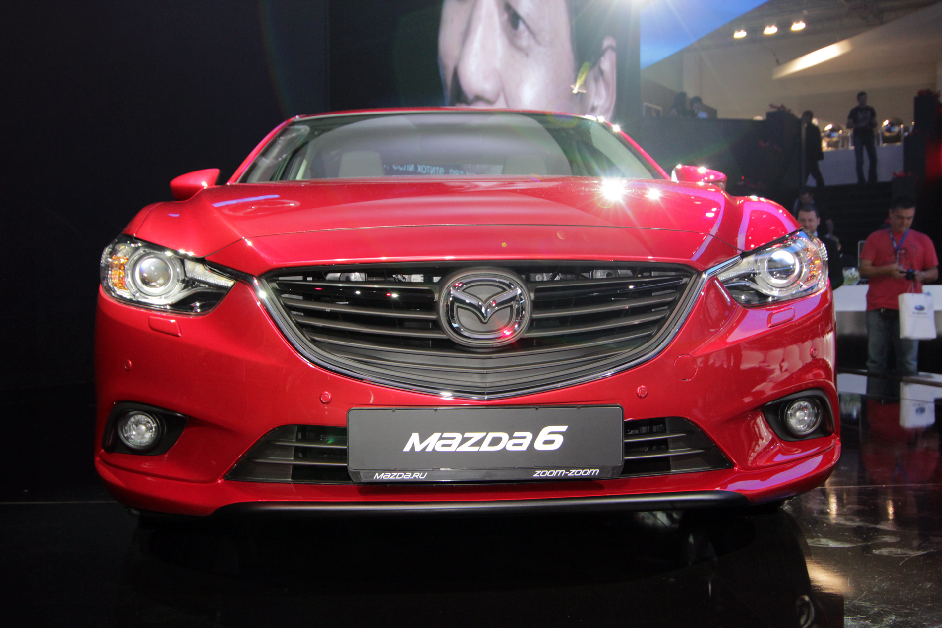 Россия первой в мире увидела новую Mazda 6