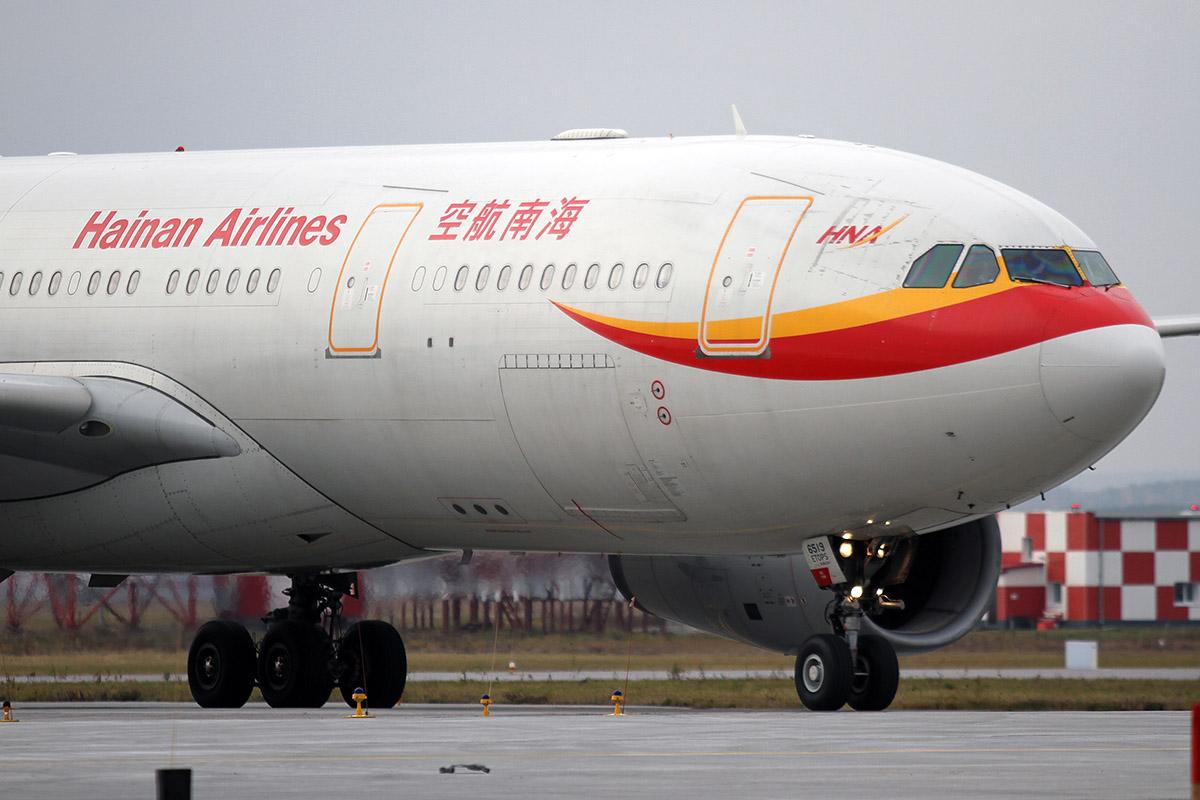 Китайская авиакомпания отменила рейсы в Екатеринбург всего через месяц после начала полетов