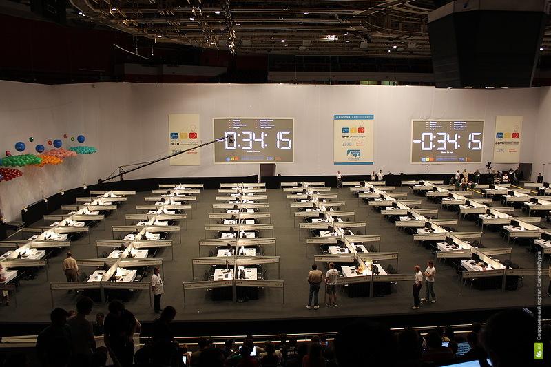 В Екатеринбурге начали соревноваться самые башковитые программисты мира