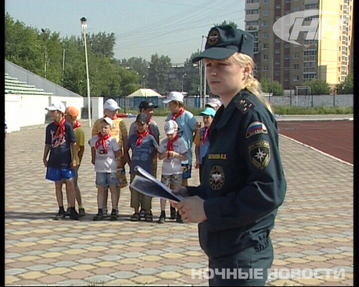 На стадионе «Локомотив» школьники перебинтовали друг друга
