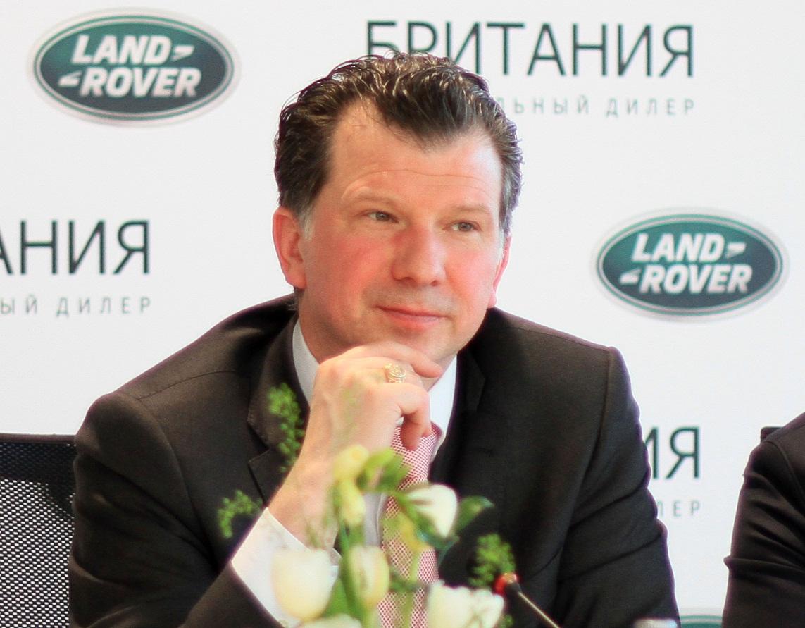 Франк Виттеманн, глава Jaguar Land Rover Rus: «Санкции ЕС ударили бы по всему российскому рынку»
