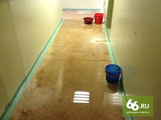 Протекающую крышу в общежитии УрФУ отремонтируют через три дня