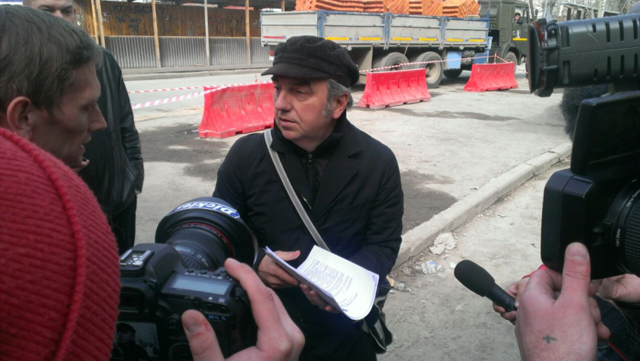 Владимир Шахрин: «Ребята, дом на Гоголя, 7 памятником не является»