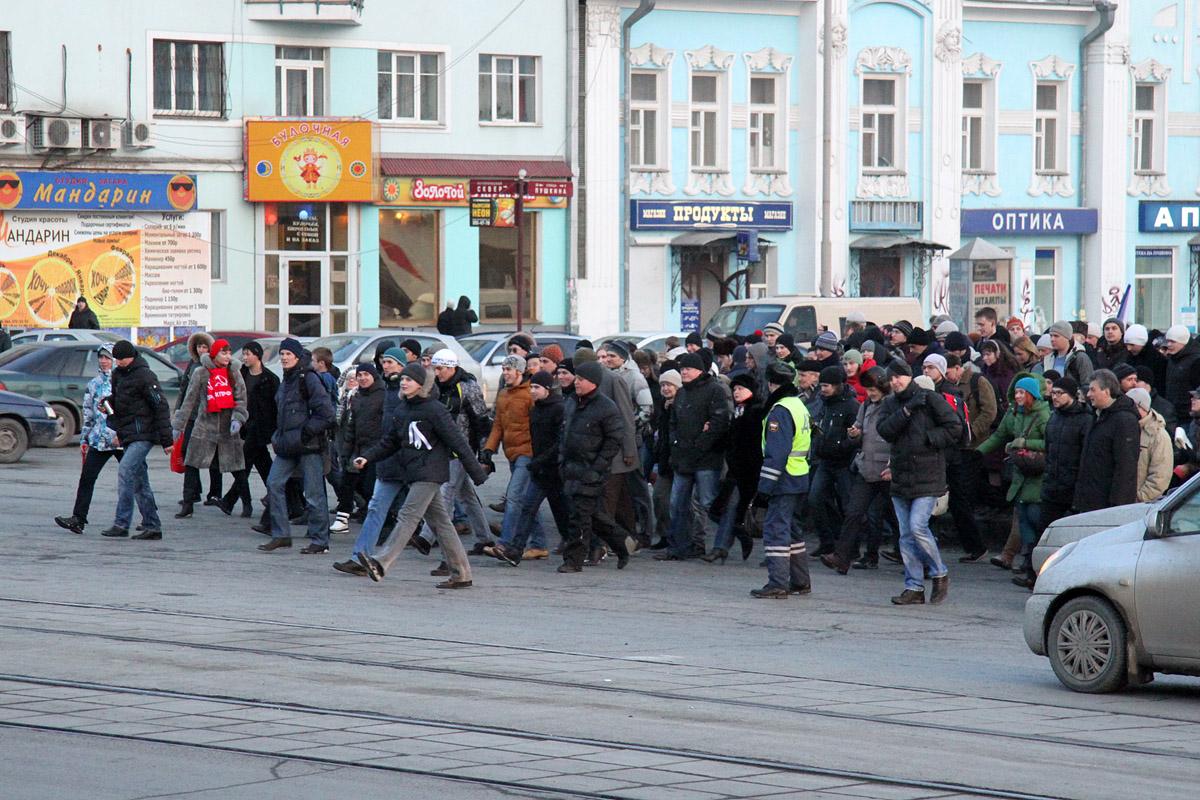 В Екатеринбурге сегодня поддержат узников Болотной