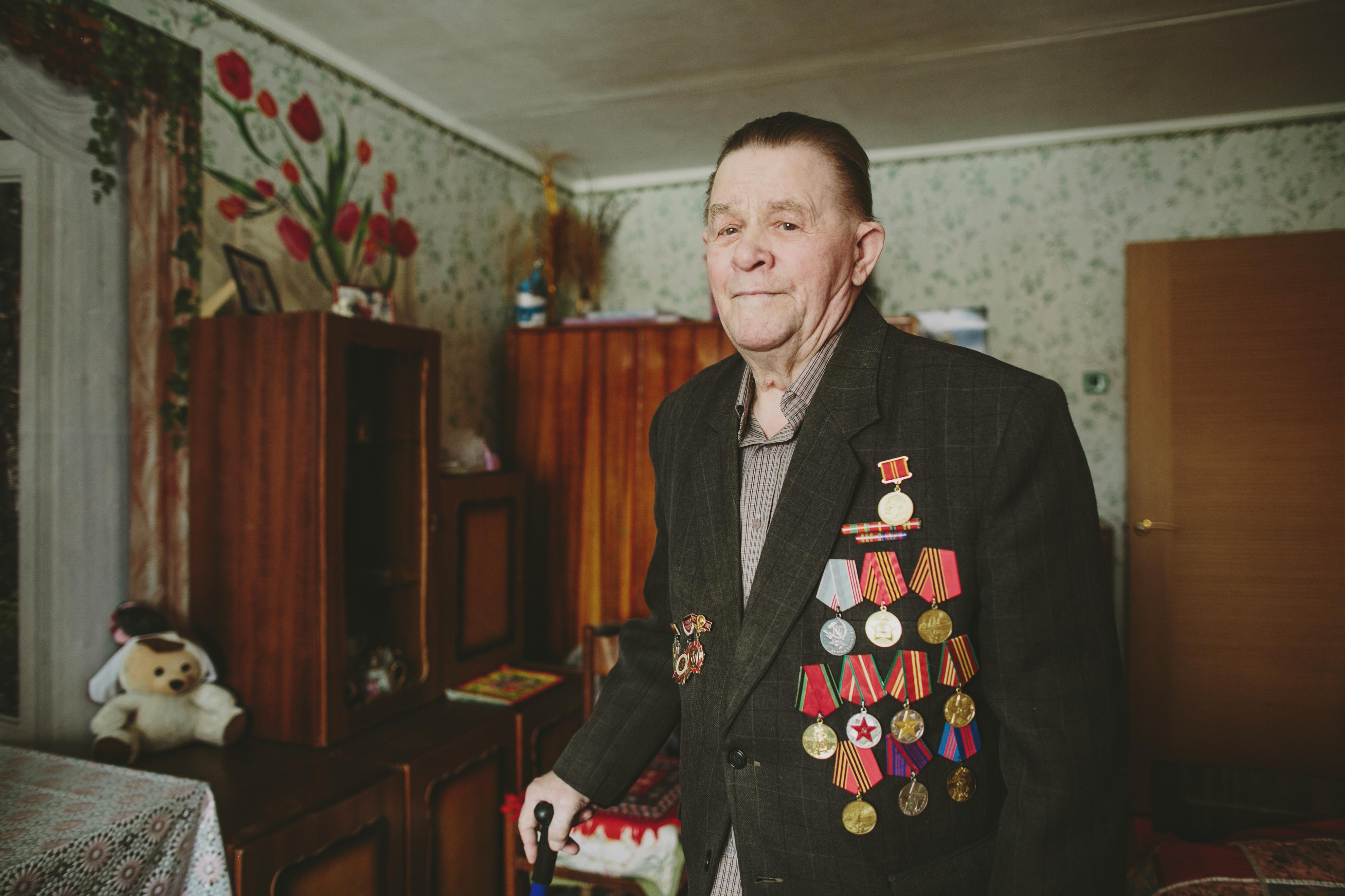 Живые легенды: Вениамин Андреевич. Публикуем истории ветеранов из Верхней Пышмы