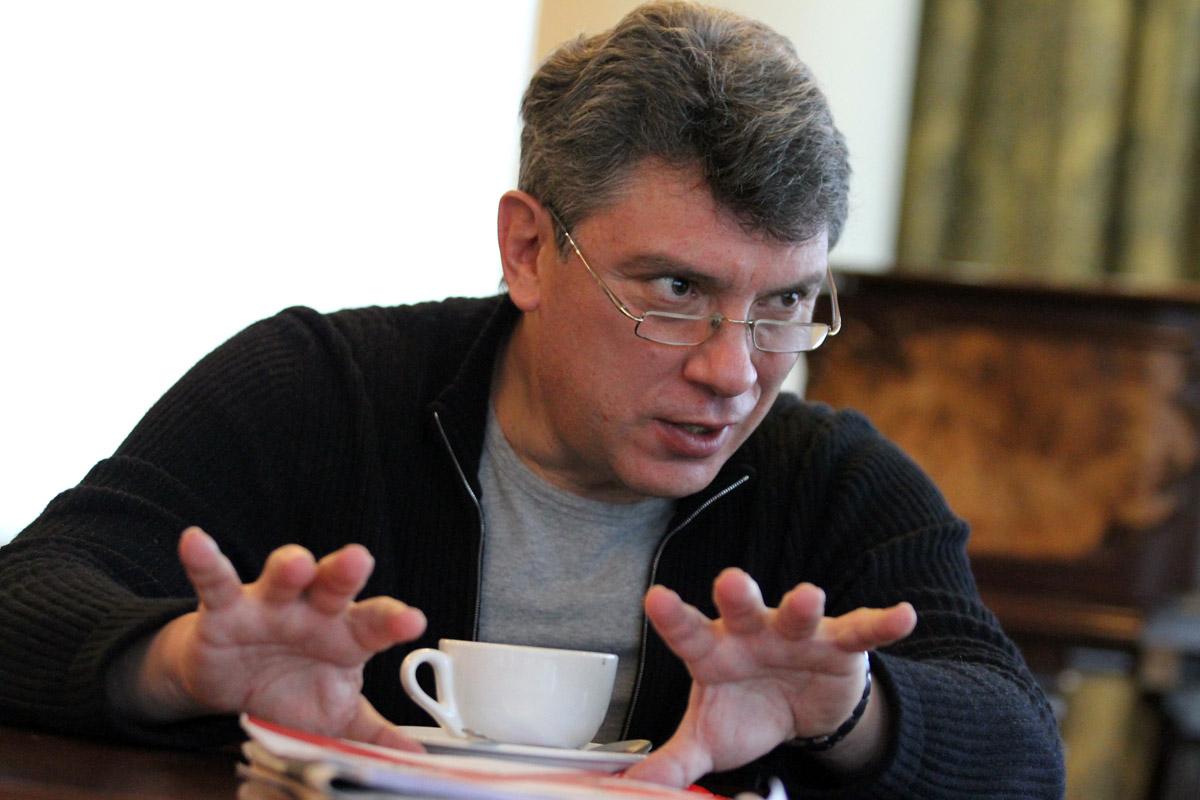 Борис Немцов: «В регионе, откуда Ельцин и Россель, не нашлось губернатора»