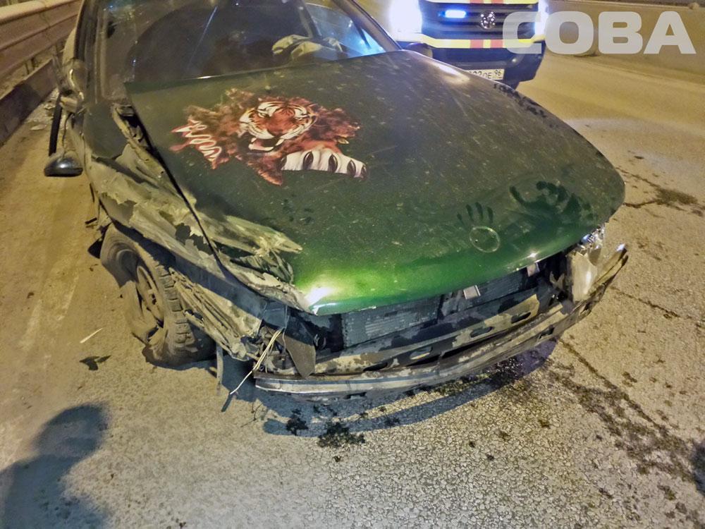 На Московской пьяный водитель едва не погубил своего пассажира