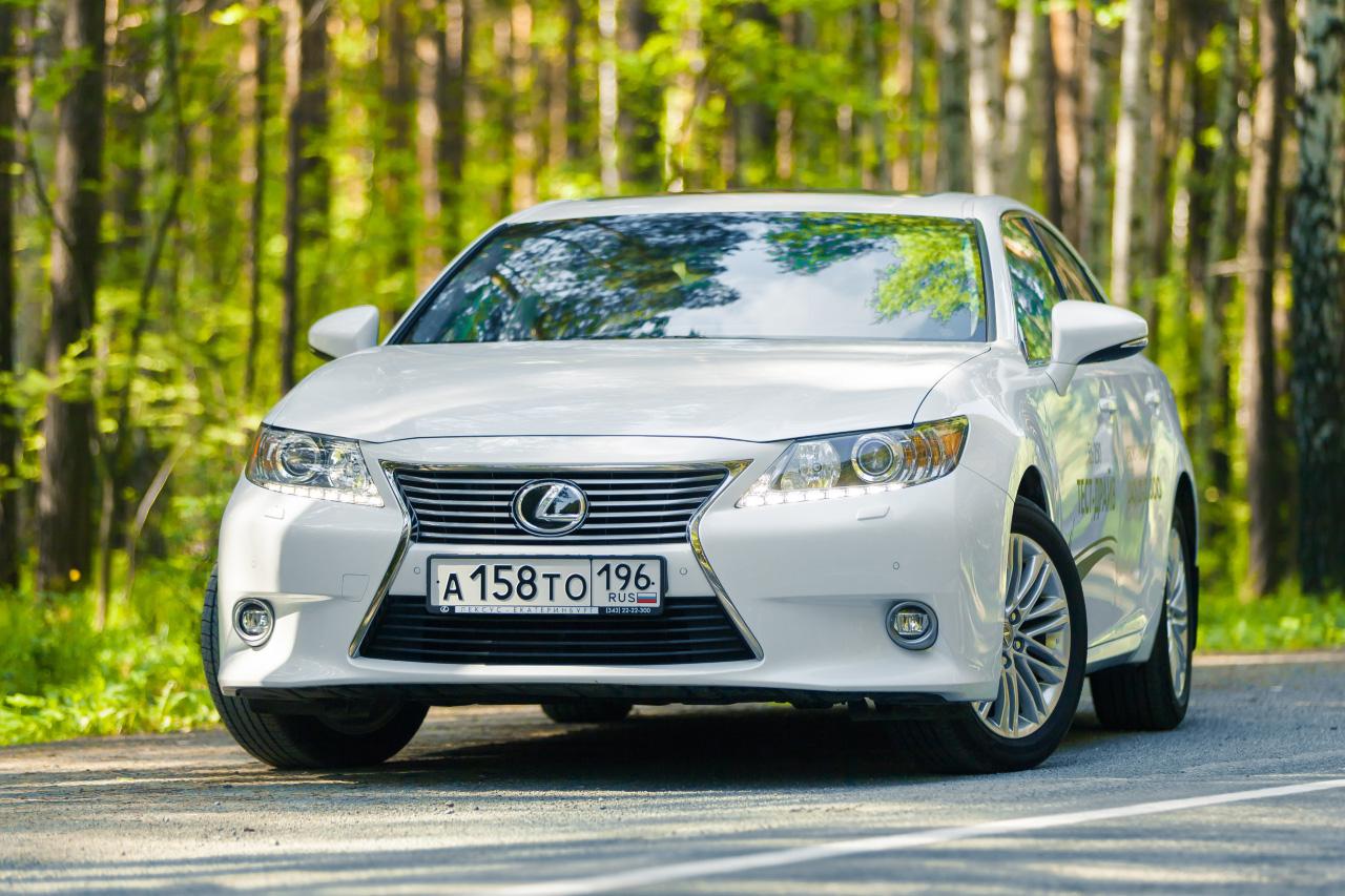 Стабильно растущий: тестируем Lexus ES 250