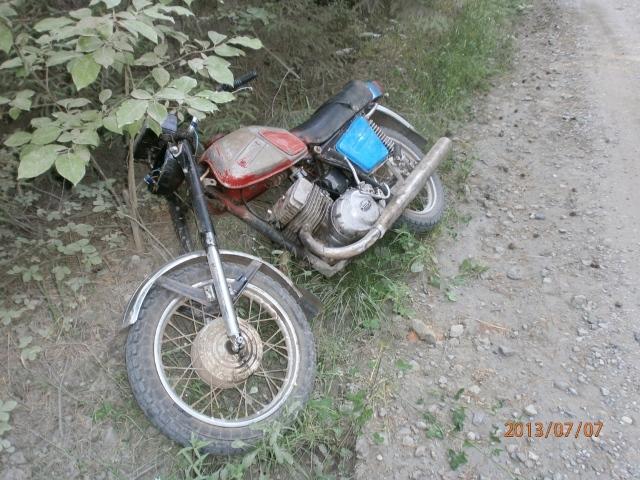 Пьяный мотоциклист спровоцировал аварию на трассе около Ревды
