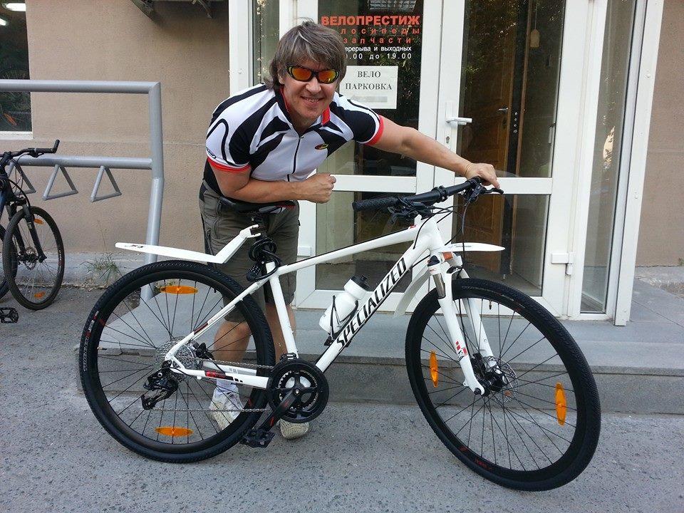 Розыск: у Сергея Исаева украли велосипед за 50 тысяч рублей