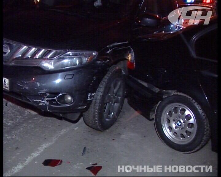 На Московской ДТП с тремя иномарками парализовало движение на три часа