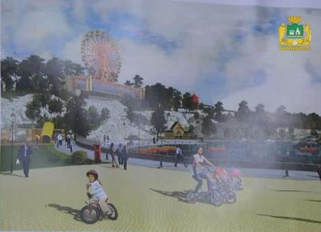 Возле «Радуга-парка» установят колесо обозрения