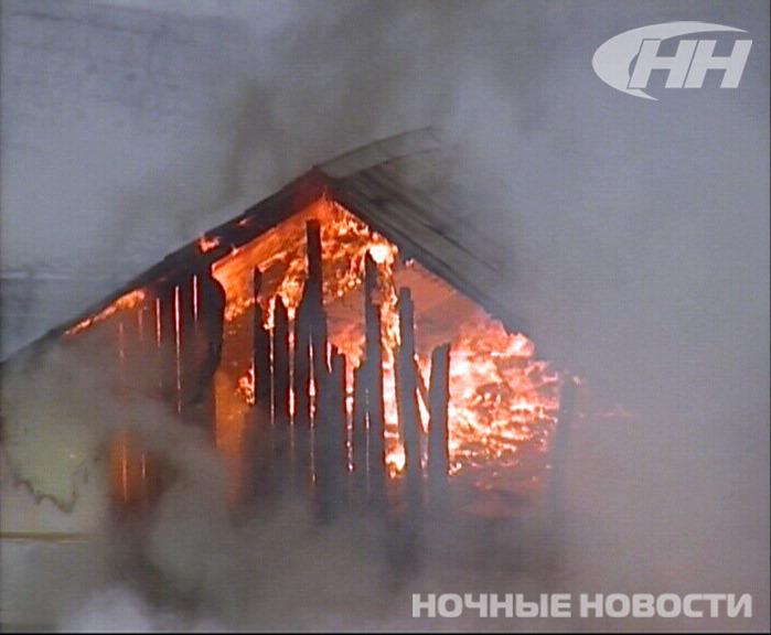 В пожаре на Авиационной пострадали баня, автомойка и кафе