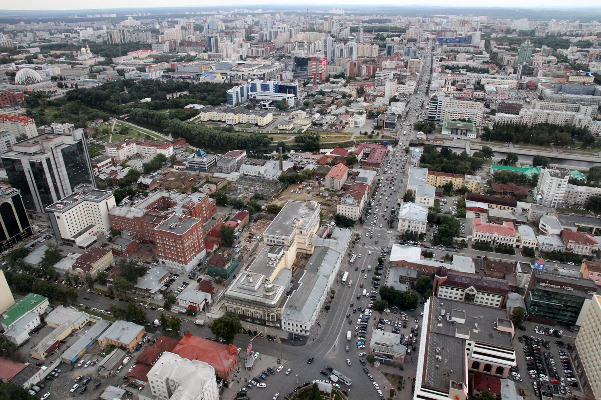 Екатеринбург стал третьим в рейтинге самых удобных городов России