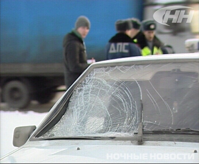На Керамике ВАЗ, обгоняя «Газель», сбил пешехода