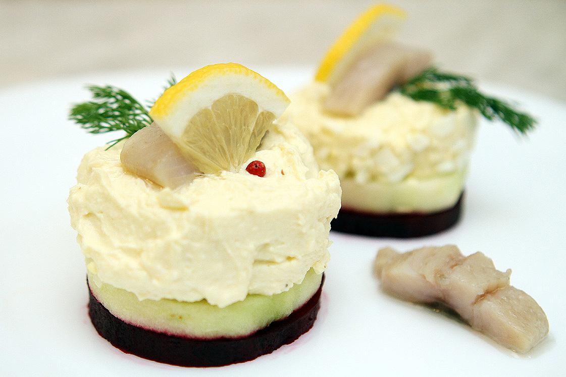 Небритый повар. Антисанкционная закуска по-русски с яблоком и творожным сыром