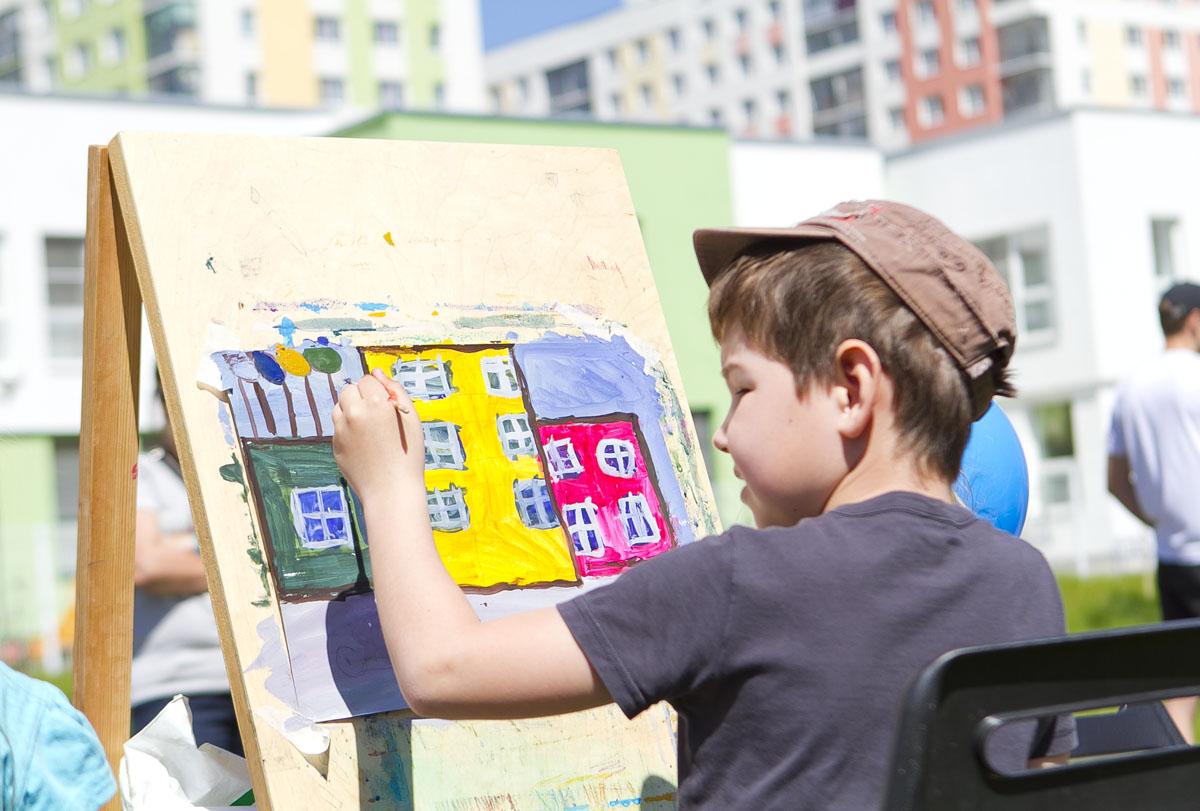Маленькие екатеринбуржцы нарисуют свой город