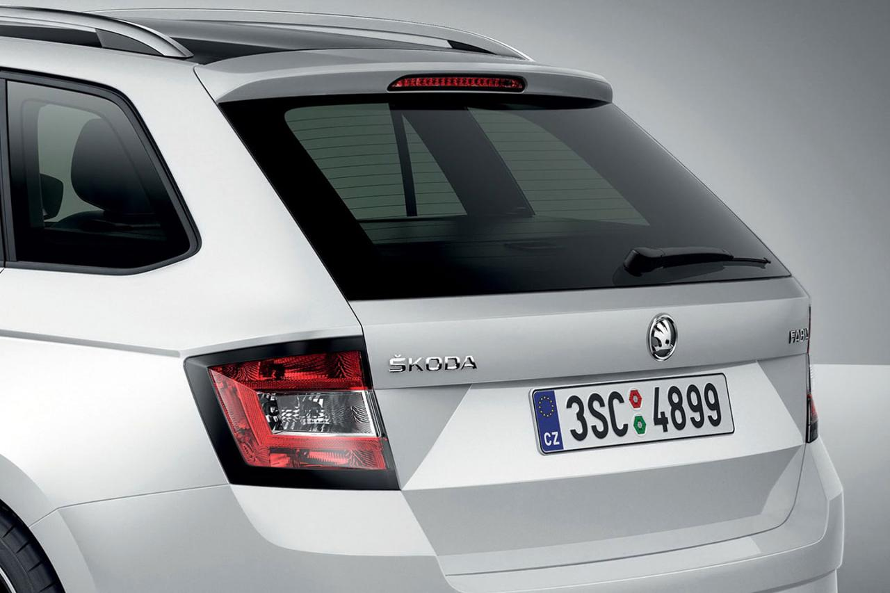 Combiнация: Skoda показала новую Fabia в кузове универсал