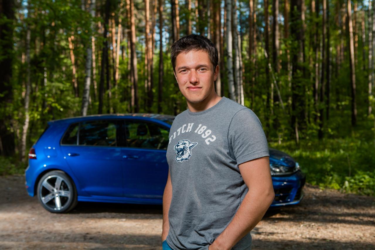 Личный опыт: Сергей Карякин и безумный Volkswagen Golf R